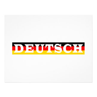 German Custom Flyer