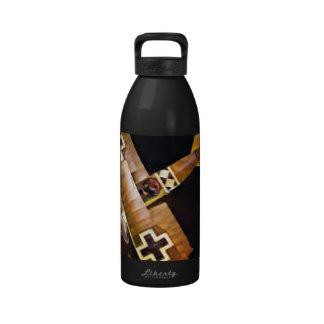 German Fokker Triplane Water Bottle