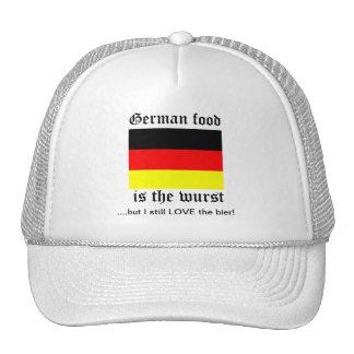 German food is the wurst trucker hat