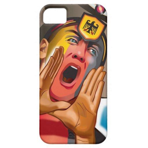 German Football Fan Reaction iPhone 5 Case