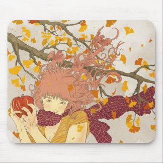 German for Autumn Mouse Pad