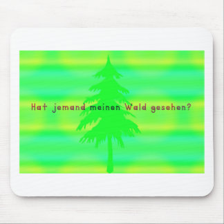 German -Forest Mouse Pad
