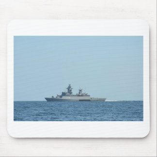 German frigate Braunschweig at sea. Mouse Pad