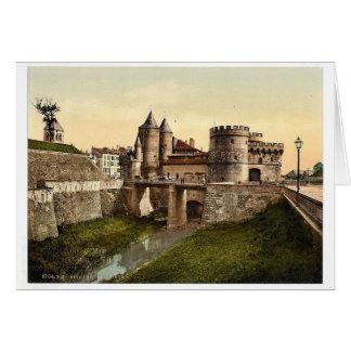 German Gate, Metz, Alsace Lorraine, Germany vintag Card