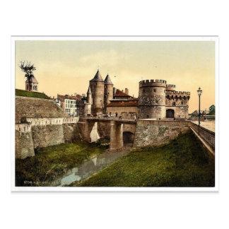 German Gate, Metz, Alsace Lorraine, Germany vintag Postcard