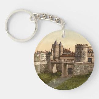 German Gate, Metz, Lorraine, France Keychain
