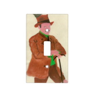 German Gent 2 Light Switch Cover