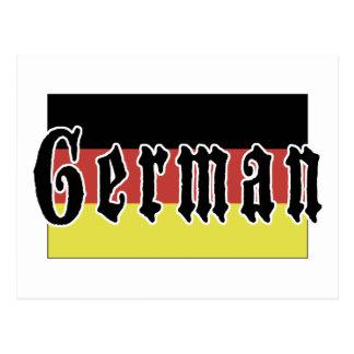 German Gift Postcard