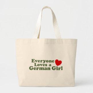 German Girl Canvas Bags