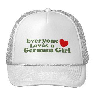 German Girl Trucker Hats