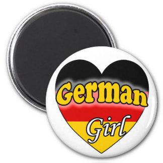 German Girl Refrigerator Magnets