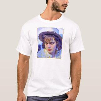 """German Girl on the Rhine"" EDUN LIVE Eve Ladies T-Shirt"