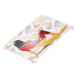 German Girl Silhouette Flag iPad Mini Covers