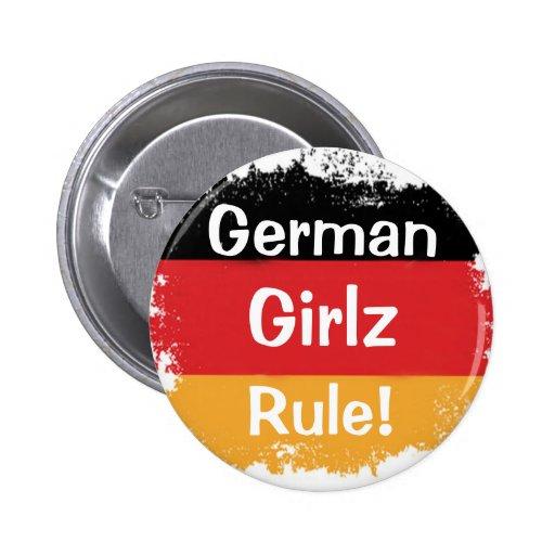 German Girls, Girlz, Rule! Button