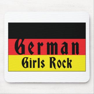 German Girls Rock Mouse Pad