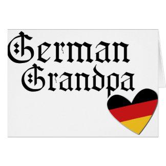 German Grandpa T shirt Greeting Card