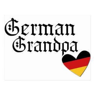 German Grandpa T shirt Postcard