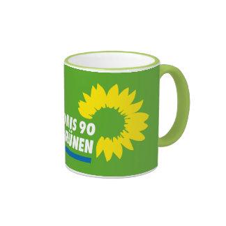 German Green Party Ringer Mug