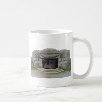 German Gun Position Overlooking Normandy Beach Coffee Mug