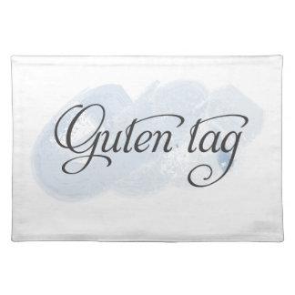German - Guten Tag Place Mat