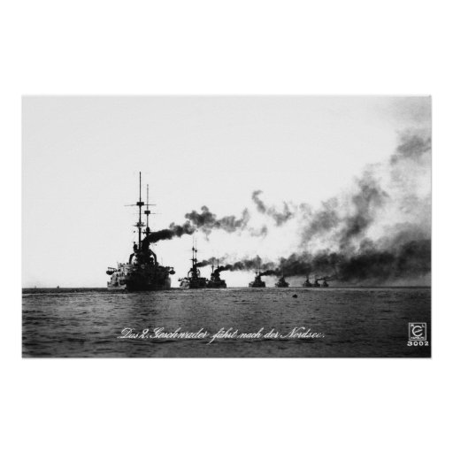 German High Seas Fleet Poster