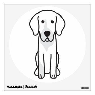 German Hound Dog Cartoon Wall Sticker