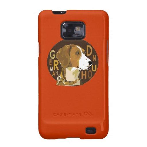 German hound galaxy s2 case