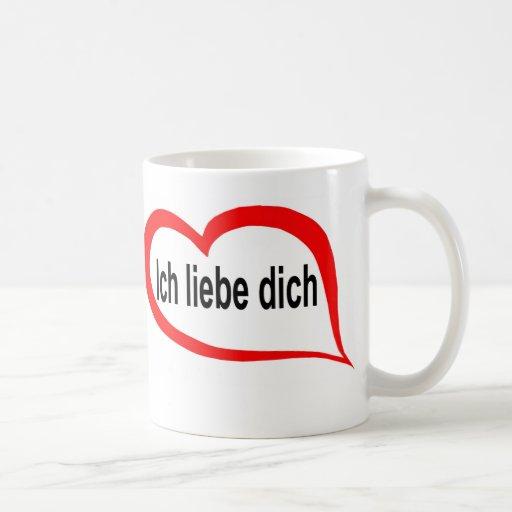 German I love you2 Classic White Coffee Mug