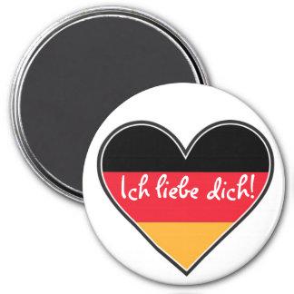 German - I love you Magnet