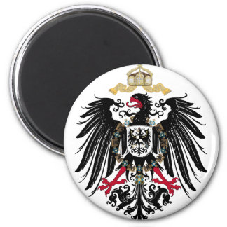 German imperially Eagle 2 Inch Round Magnet