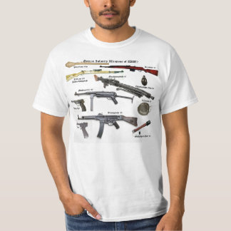 German Infantry Weapons of WW2 T Shirt