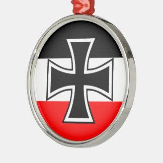 German Iron Cross Metal Ornament