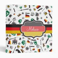 German items with Flag of Germany