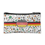 German items with Flag of Germany Cosmetic Bag