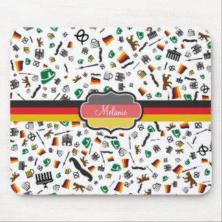German items with Flag of Germany Mouse Pad