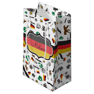 German items with Flag of Germany Small Gift Bag