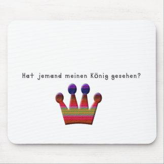 German -King Mouse Pad