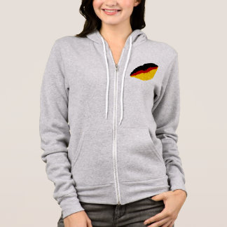 German kiss hoodie