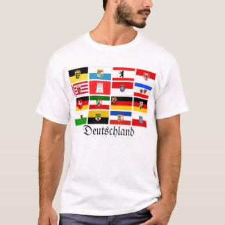 German Laender State Flags Deutschland T-Shirt