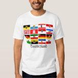German Laender State Flags Deutschland T-shirts