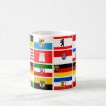 German Laender State Flags Classic White Coffee Mug