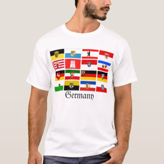 German Laender State Flags T-Shirt