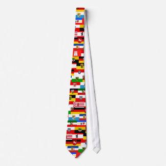German Laender State Flags Tie