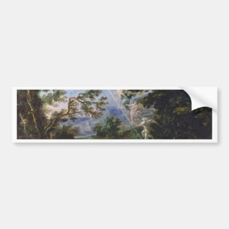 """German """"Landscape With The Dream Of Jacob"""", """" Bumper Stickers"""
