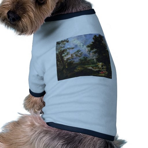"""German """"Landscape With The Dream Of Jacob"""", """" Dog T Shirt"""