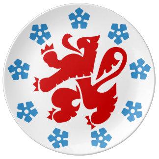 German-language community of Belgium - Eupen etc. Dinner Plate