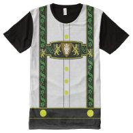 German Lederhosen Costume All-Over Print T-shirt