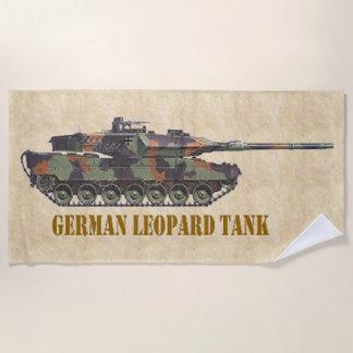 GERMAN LEOPARD TANK BEACH TOWEL