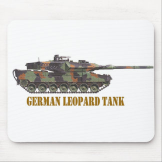 GERMAN LEOPARD TANK. MOUSE PAD