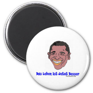 German Life's Better Now 2 Inch Round Magnet